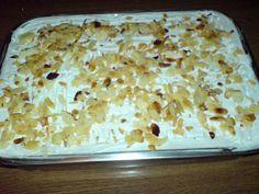 Εκμέκ με φρυγανιές!! Γλυκός πειρασμός στα γρήγορα !!! Greek Desserts, Greek Recipes, Macaroni And Cheese, Deserts, Food And Drink, Pudding, Sweets, Bread, Baking