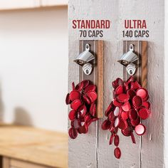 The Pilsner magnetic bottle opener uncaps beer and soda bottles, catching over 60 bottle caps. This bottle opener is a DropCatch Classic! The Good Life Magazine, Magnetic Bottle Opener, Shed Signs, Stainless Steel Straws, Tool Sheds, Soda Bottles, Memorable Gifts, Best Dad, Walnut Wood