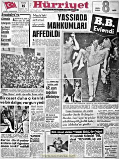 Hürriyet gazetesi 15 temmuz 1966