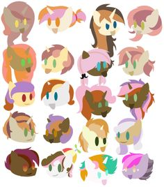 20 ButtonBelle's by iPandacakes on @DeviantArt
