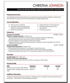 24 best MY PERFECT RESUME images on Pinterest | Career advice ...