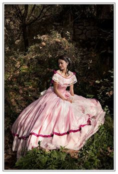 Civil War ball gown 1850s lady dress by TheSeamstressofRohan