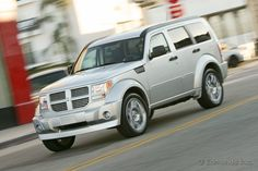 My ride; silver Dodge Nitro