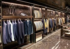 Canali store, Madrid   Spain luxury fashion
