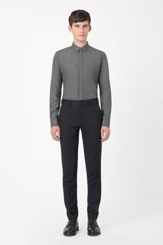 COS | Cotton flannel shirt