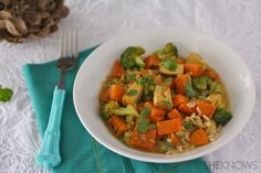 Sweet Potato and Tofu Curry #MeatlessMonday