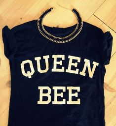 Queen Bee Black tshirt for women tshirts shirts by Stupidfashion, $20.00