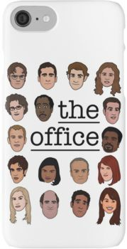 The Office Crew iPhone 7 Cases
