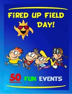 BEST DAY EVER!!!This packet has fifty, fun and exciting field day events that have been battle tested and have been given the seal of approval by many elementary and middle school aged students. This is your One Stop Shopping place for creating events for a successful field day.