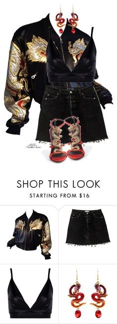 """Unbenannt #3283"" by saskiasnow ❤ liked on Polyvore featuring Giuseppe Zanotti and Boohoo"