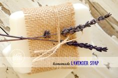 Homemade-Lavender-Soap Tutorial