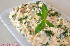 Garnitürlü Soğuk Salata Tarifi