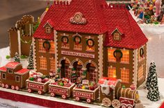 north pole station by raspberrytart,