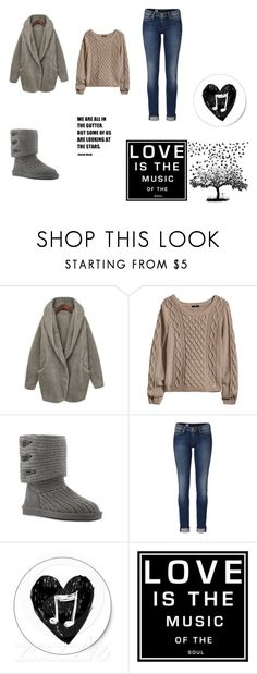 """""""the battle"""" by panda3789 ❤ liked on Polyvore featuring My Mum Made It, H&M, Bearpaw, Tommy Hilfiger and Universal Lighting and Decor"""