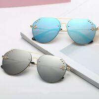 99eef7d92 Fashion Driving Sunglasses Unisex Outdoor Sport Rivet Bee Glasses Eyewear  Bee Glasses, Round Sunglasses,