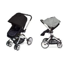 Amazon.com: JJ Cole Broadway Stroller WITH FREE Color Swap Canopy- Stone: Baby