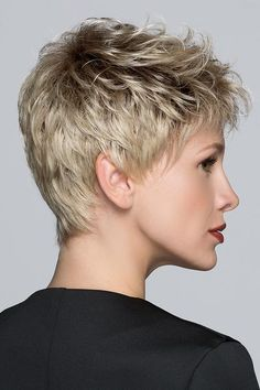 Tab by Ellen Wille Wigs - Hand Tied, Monofilament Crown, Lace Front Wig Haircut For Older Women, Short Hair Cuts For Women, Short Hairstyles For Women, Haircut Men, Amazing Hairstyles, Short Pixie Haircuts, Pixie Hairstyles, Messy Pixie Cuts, Hairstyles 2016