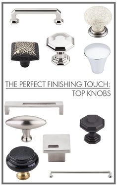 Ordinaire Top Knobs: The Perfect Finishing Touch   Life In Sketch
