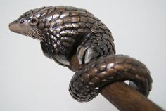 Pangolin Sculpture by ChantalsArt on Etsy