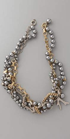 I certainly believe in mixing matte or shiny gold, copper, silver, pewter, and bronze in the same piece.