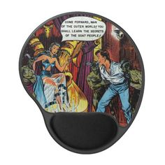 Volcano of Vengeance - Comic Gel Mouse Pad tap / click to buy this top-selling design #trending #gifts #whatworks