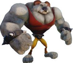 Koala Kong is a koala evolved by the Evolvo-Ray who appears in some Crash Bandicoot games. Crash Bash, Crash Team Racing, Spyro The Dragon, Crash Bandicoot, Character Portraits, Pokemon, Fun Games, Tigger, Things That Bounce