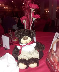 Graham recently attended the YWCA's Red Dress Fashion Show!