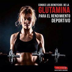 """La #Glutamina es el aminoácido más abundante en los músculos, aunque  no forma parte de los """"aminoácidos esenciales"""" en cierta medida es considerado """"semi-esencial"""" ya que solo en determinadas situaciones el cuerpo es capaz de sintetizar la cantidad necesaria para cubrir la demanda fisiológica. Sus beneficios a nivel deportivo son: 1. Reduce la fatiga  muscular post entrenamiento. 2. Evita la pérdida de músculo. 3. Promueve la recuperación de energía. 4. Interviene en el aumento de fuerza y…"""