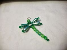 Creative Bling - My beaded dragonfly zipper pull