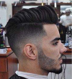 Trendy short haircut; all that's missing here is a highly defined part line, men's hairstyles (2015/2016)