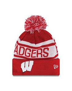 fdda695d5b5 Russell~~NCAA Wisconsin Badgers Biggest Fan Redux Beanie New Era http   . Knit  BeanieBeanie HatsBeaniesWisconsin WinterWisconsin ...