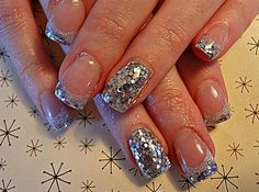 how to use large glitter polish   and i would really love to try this out can