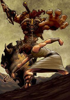 David / Goliath