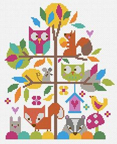 The Stitching Shed Forest Fun Counted Cross Stitch Kit, B... https://www.amazon.co.uk/dp/B015DS6BQ0/ref=cm_sw_r_pi_dp_x_rWGLybJR0D2TM