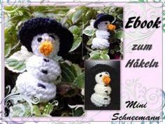 berlidesign - Schneemann Mini Amigurumi