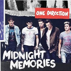 Midnight Memories, das neue Album-Cover #artwork
