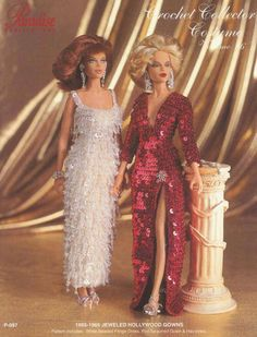 Barbie, Crochet Collector Costume Vol. 86 pattern http://knits4kids.com/collection-en/library/album-view?aid=2143