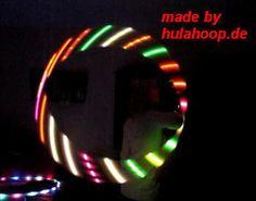 November ANGEBOT: LED Hula Hoop Multicolour slow von LED Hula Hoop auf DaWanda.com
