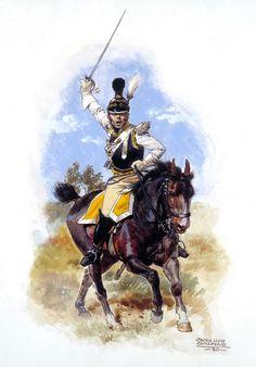 Napoleon's Allies:  Saxon cuirassier