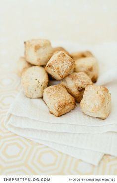 I always have bitesize golden brown scones on my tea table, and I get asked for the recipe time after time. So today I'm sharing it with you. It's a fantastic recipe to have in your repertoire, and great to serve for breakfast when you have guest staying over. | Photography by Christine Meintjies