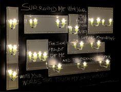 Applique moderna / in vetro di Murano - SURROUND ME