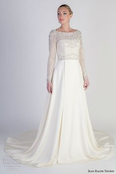 Jean-Ralph Thurin Bridal Spring 2016 Wedding Dresses | Wedding Inspirasi