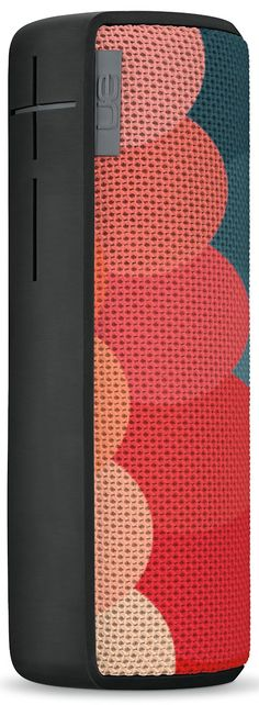 Logitech Ultimate Ears BOOM Wireless Bluetooth Speaker - Is a 360-degree speaker that drops bold, rich resonant sound in every direction with exceptional bass size. Also, it has a colorful acoustic skin with plasma coating that makes UE BOOM water and stain resistant. Battery life of UE BOOM? Up to 15 hours of playback. To get more updates, follow Best Buy Portable Speakers. To get more updates, follow Best Buy Portable Speakers.
