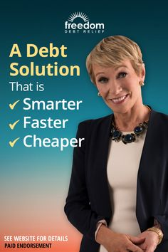 Get out of debt and on with your life. Freedom Debt Relief offers a way out - no loan required. Find out how Freedom Debt Relief has already helped over 150,000 customers resolve debt with their proven program. Answer a few questions to see you if you qualify.