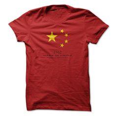 Made In China 1962... #Aged #Tshirt #year