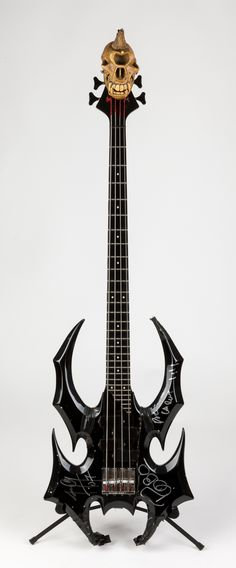 The Devastator Bass | Custom Made by Jerry Only (of the Misfits) himself