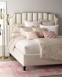 Shop Bayonne Channel Tufted California King Bed from Bernhardt at Horchow, where you'll find new lower shipping on hundreds of home furnishings and gifts. Queen Duvet, Queen Size Bedding, Bedding Sets, Bedding Decor, King Beds, Queen Beds, Upholstered Furniture, Bedroom Furniture, Dream Homes