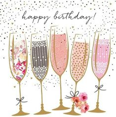 Happy birthday image with white and pink balloons. Related posts: 50 Happy birthday wishes friendship Quotes With Images 52 Sweet. 40th Birthday Cards, Bday Cards, Happy Birthday Messages, Happy Birthday Quotes, Happy Birthday Greetings, Birthday Fun, Birthday Celebration, Colorful Birthday, Happy 40th Birthday