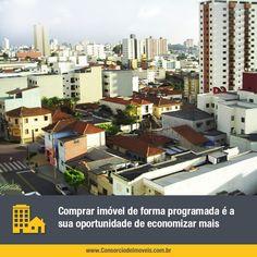 Sem juros, a modalidade de consórcio permite comprar um imóvel novo ou usado, comercial ou residencial, em qualquer lugar do Brasil. Confira!