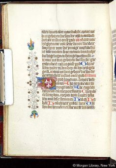 Book of Hours, MS S.2 fol. 23v - Images from Medieval and Renaissance Manuscripts - The Morgan Library & Museum